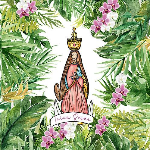 Personalized Santa Marian Kamalen Blanket