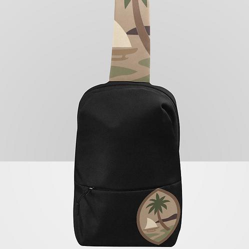 Camo Guam Seal Chest Bag