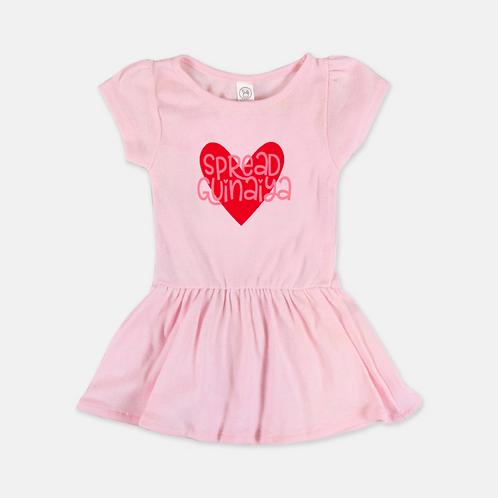 Pink Guinaiya Dress + Pink Text