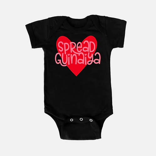 Guinaiya Onesie + Pink Text