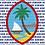Thumbnail: Personalized White Guam Seal Nå'an Blanket