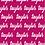 Thumbnail: Personalized Cursive Name Blanket