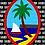 Thumbnail: Personalized Black Guam Seal Nå'an Blanket