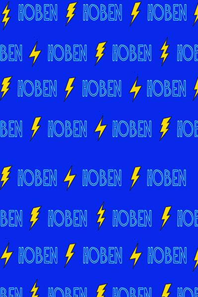Personalized Lightning Bolt Blanket
