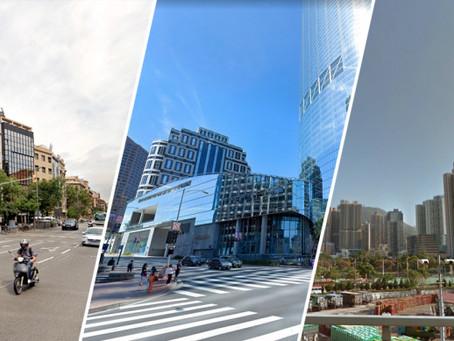 バルセロナ、アシャンプラ地区は世界で最も人気のある地区