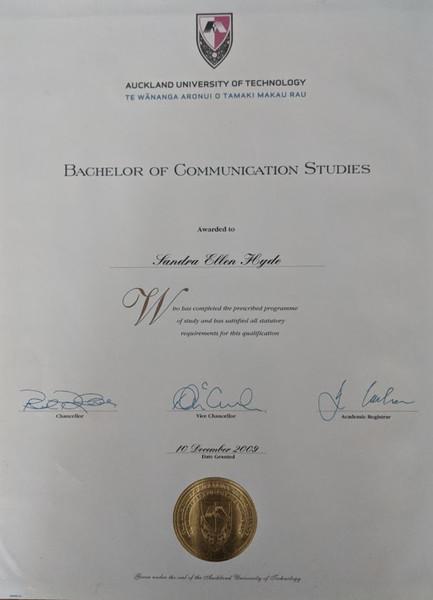 Bachelor of Communication Studies