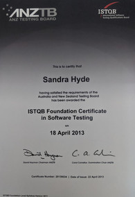 ISTQB Foundation Certificate in Software Testing