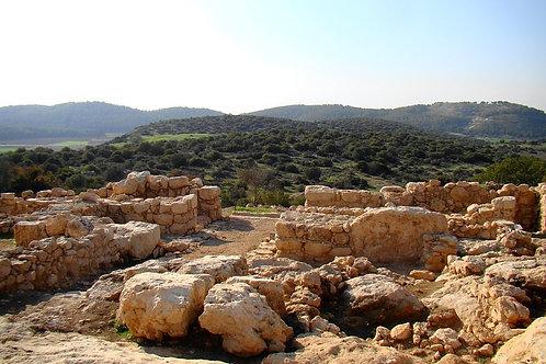 Khirbet Qeiyafa - Live On Location