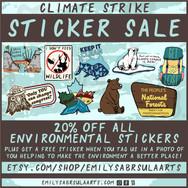 Sticker Sale Poster