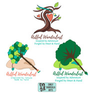 Artful Wanderlust Logo Concepts