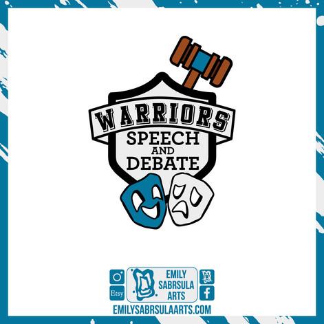 Speech and Debate Sticker