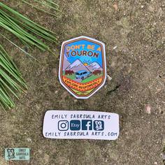 Touron Sticker