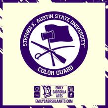 SFA Colorguard Sticker