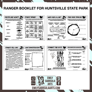 Ranger Book Pages