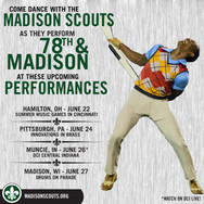 Madison Scouts Show Listings