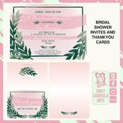 Wedding Shower Cards
