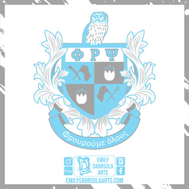 Phi Rho Psi National Crest