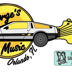 George's Music Sticker