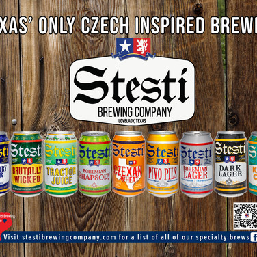 Stesti Poster for HEB