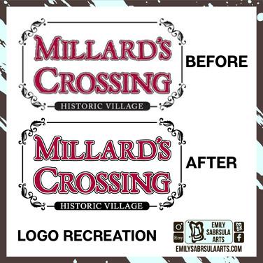 Millards Crossing Logo