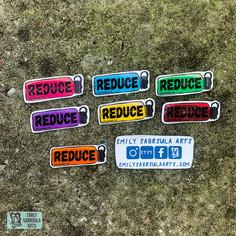 Reduce Stickers