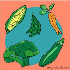Veggie Sticker