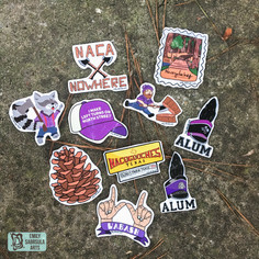 Nacogdoches Stickers