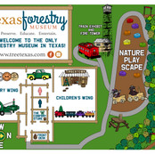 Texas Forestry Museum Map