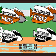 Restore Our Parks Logos