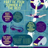 Campus Rec Swimformational Poster