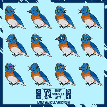 Bluebird Emotes