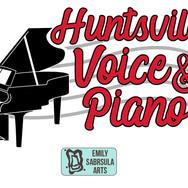Huntsville Voice and Piano Logo