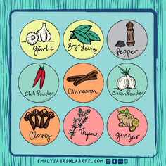 Spice Stickers