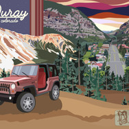 Ouray Wedding Poster