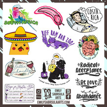 Personalized stickers
