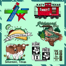 Fort Bend County Stickers