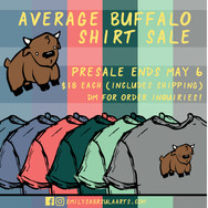 Buffalo Shirt Sale Poster