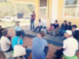 Reunião do grupo de apicultores da CoopJ