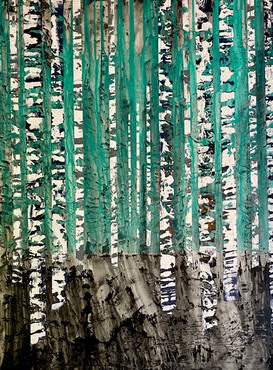 Birch tree series No. 4