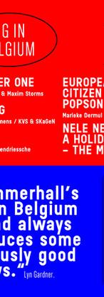 Nele Needs A Holiday- The Musical. Big In Belgium/ Theatre Royal Plymouth/ Latitude/  Summerhall, Edinburgh Fringe, 2018.