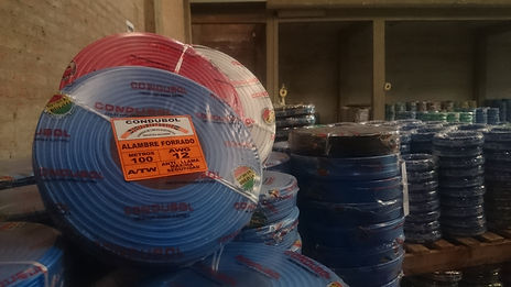 Cables eléctricos Coplas