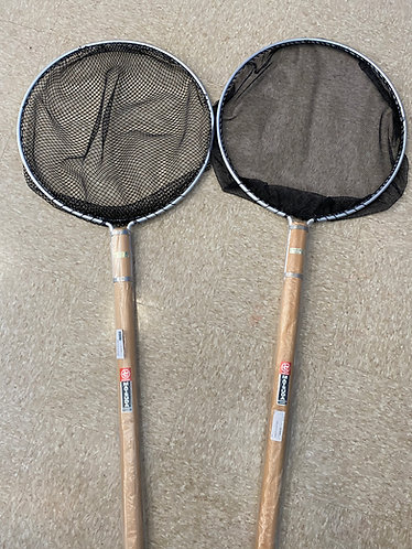 "Matsuda koi net 19"" round  x 6' wooden handle"