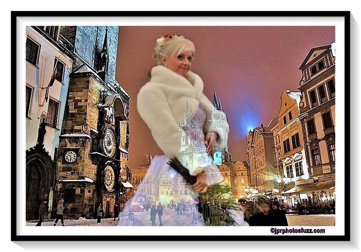 PRAHA Just married 1- Rép.Tchèque
