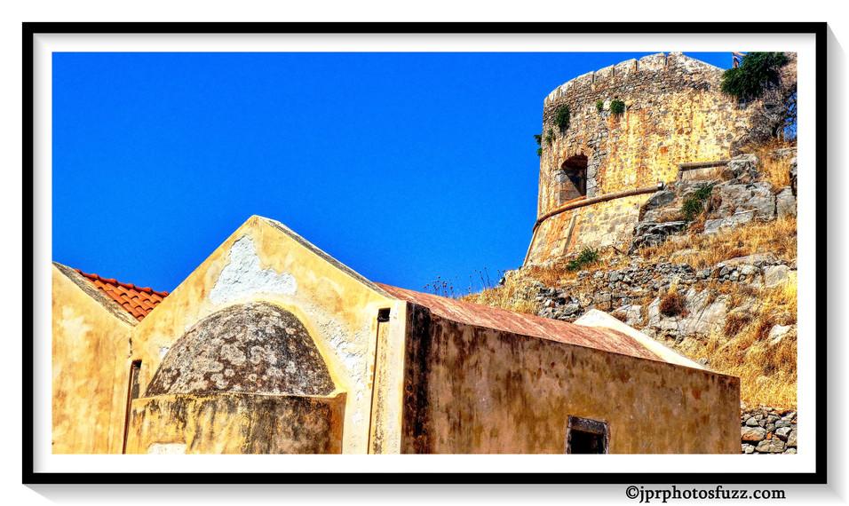 Fort Spinalonga 3 Aff EncadrWM
