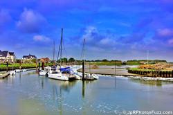 Le port de plaisance- Le Crotoy.