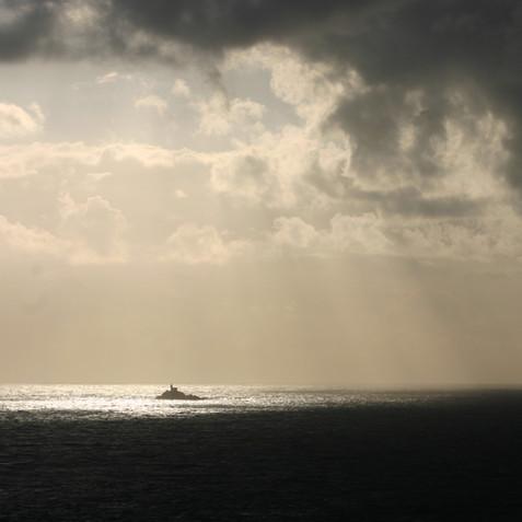 Orage sur la Pointe du Van-Bretagne