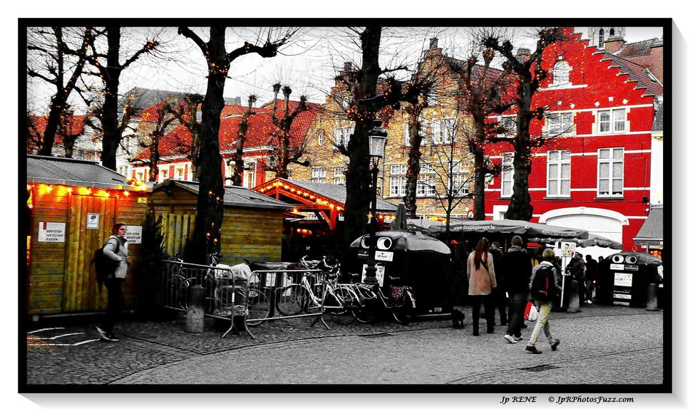 Bruges, marché de  Noel...