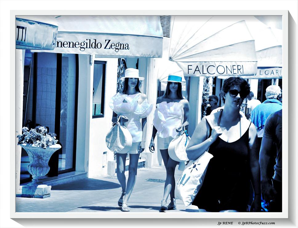 Capri, shopping...