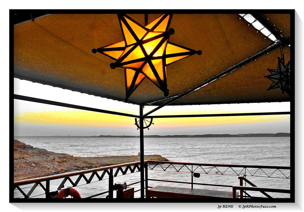 Abou Simbel2, lever du soleil sur le MS Eugénie.