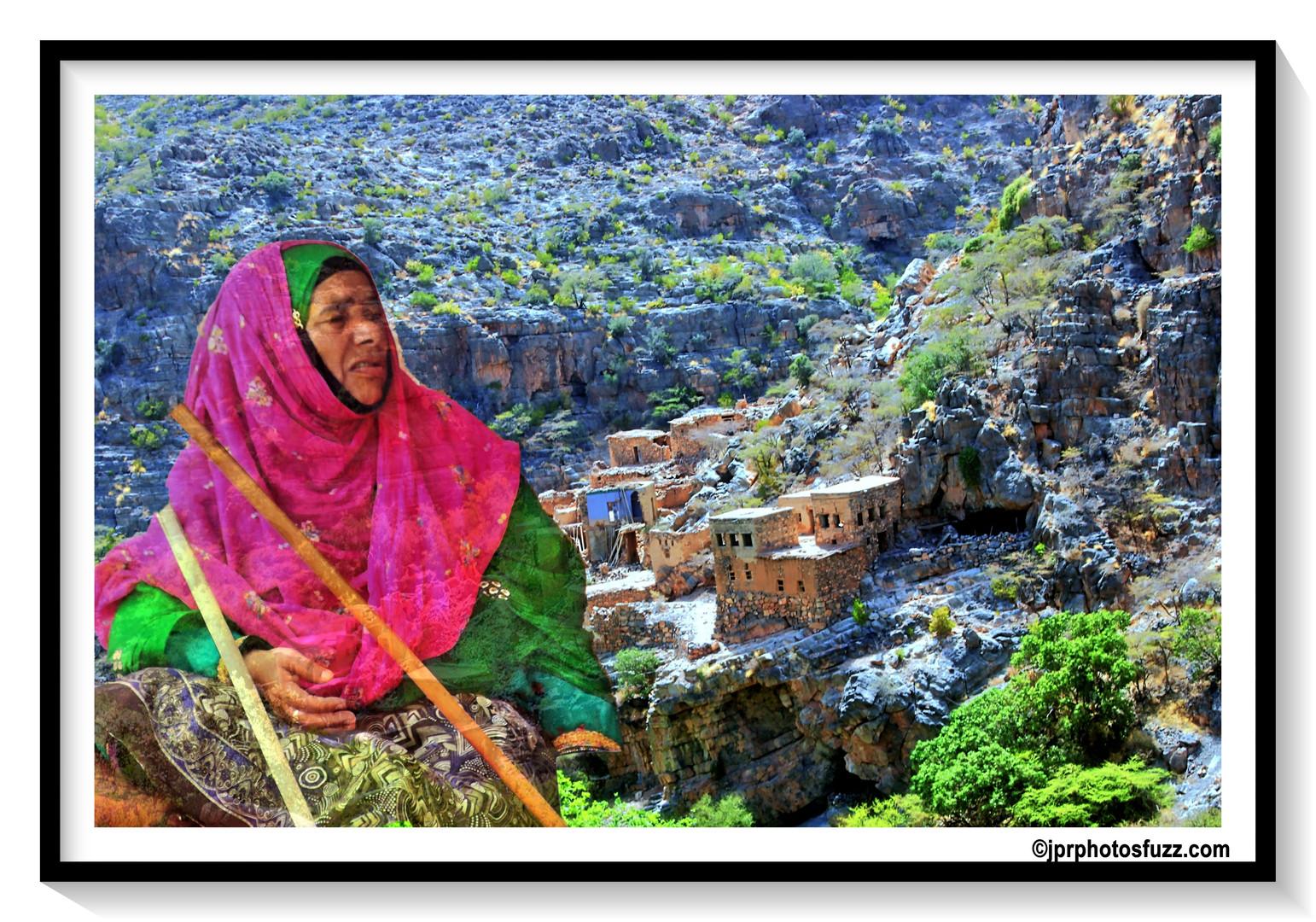 AL HAMRA Woman 1 - Oman